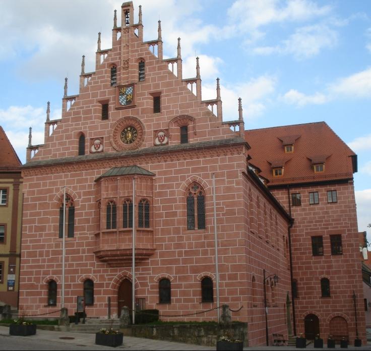Das gotische Rathaus in Sulzbach-Rosenberg