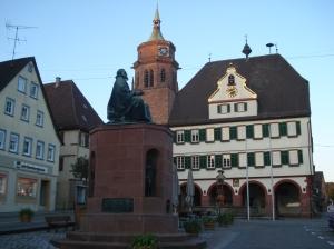Keppler-Statue in Weil der Stadt