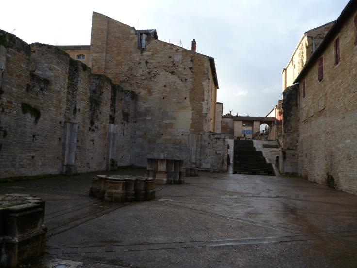 Überreste von Cluny III (Foto: schrittWeise)