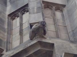 Ein Wasserspeier an der Marienkirche (Fotorechte: schrittWeise)