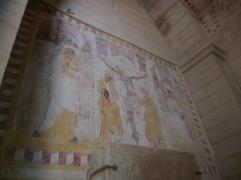 Fresco im Innenraum (Foto: schrittWeise)