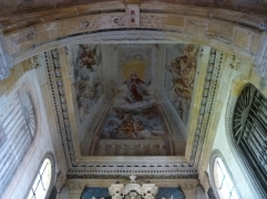 Dekenfresco in der Kirche (Foto: schrittWeise)