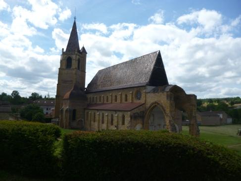 Zisterzienserkloster La Bénisson-Dieu (Benedictio Dei) (Foto: schrittWeise)