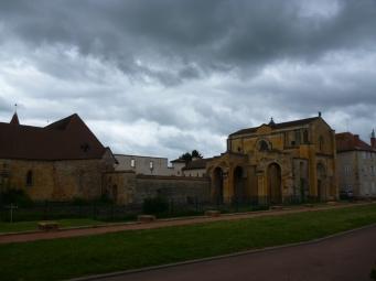 Abtei Saint-Fortunat (Foto: schrittWeise)