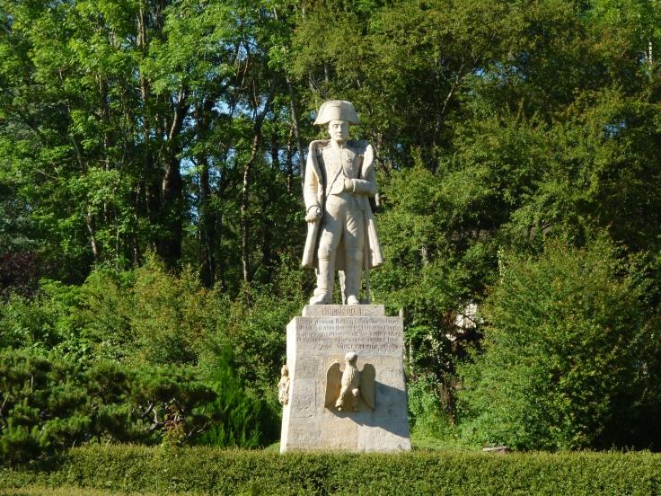 Napoleon-Statue in Les Echarmeaux
