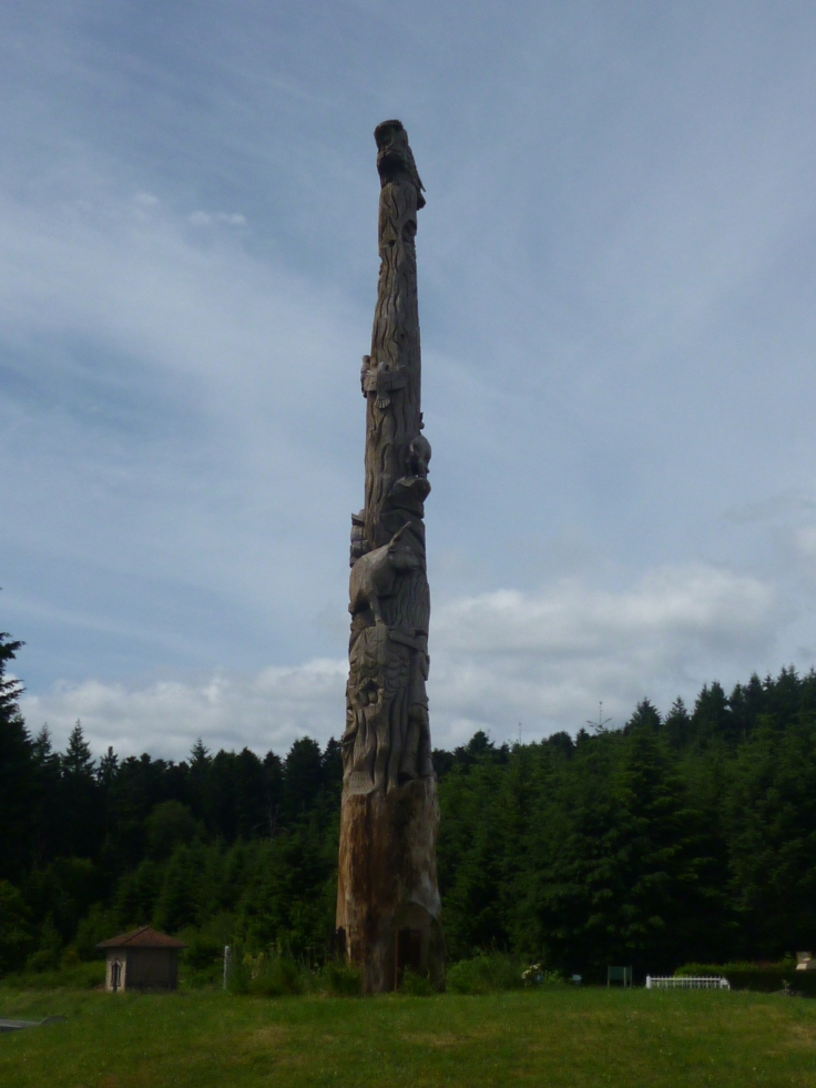 Totem in Col de Crie