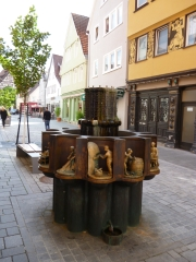Zunftbrunnen (Fotorechte: schrittWeise)