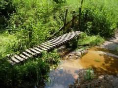 Holzbrücke (Fotorechte: schrittWeise)