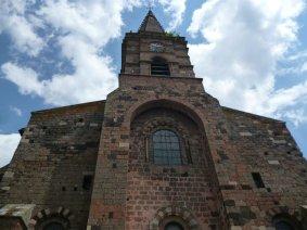 Kirche Saint-Georges in Saint-Paulien (Fotorechte: schrittWeise)