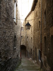 Treppenstufen von der Unterkunft zur Kathedrale (Fotorechte: schrittWeise)