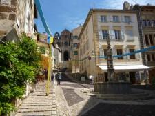 Der Weg zum Place de Plot (Fotorechte: schrittWeise)