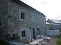 Die Unterkunft in La Roche-de-Lajo (Fotorechte: schrittWeise)