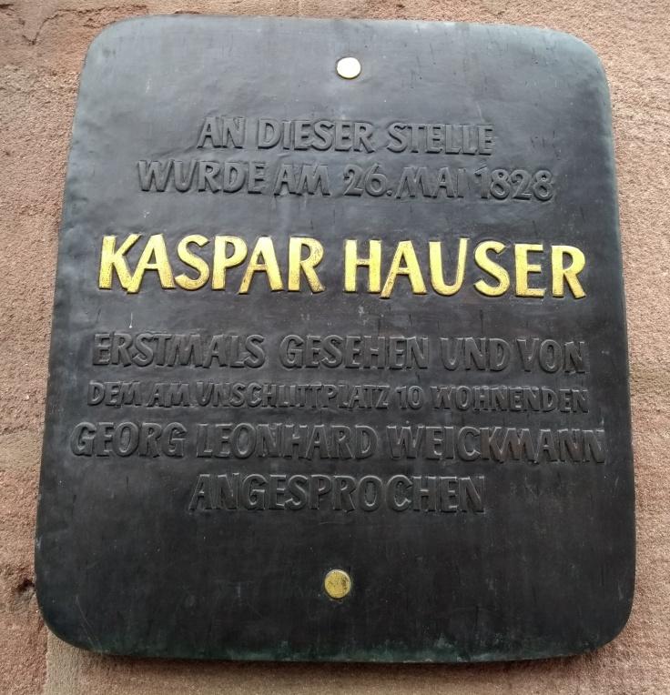 Kasper Hauser Tafel