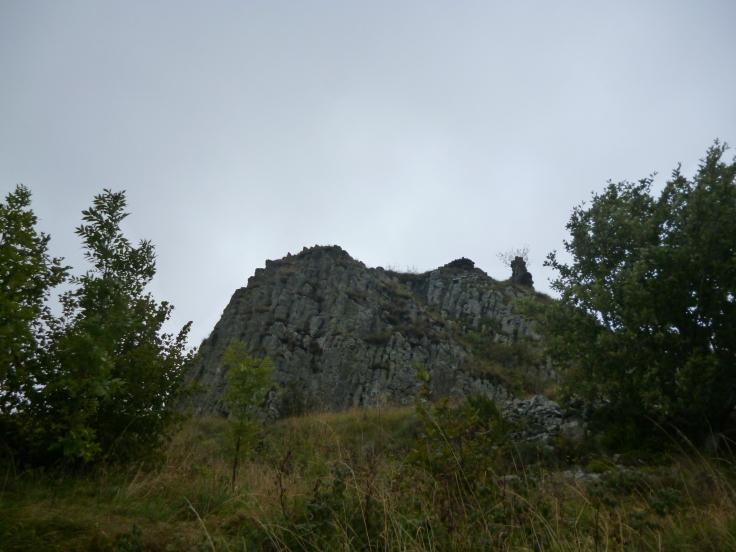 Vulkanschlot von Belvezet
