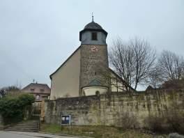 Die Kirche von Billingsbach (Fotorechte: Dario schrittWeise)