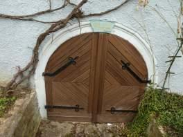 Eine schöne Tür in Bilingsbach (Fotorechte: Dario schrittWeise)
