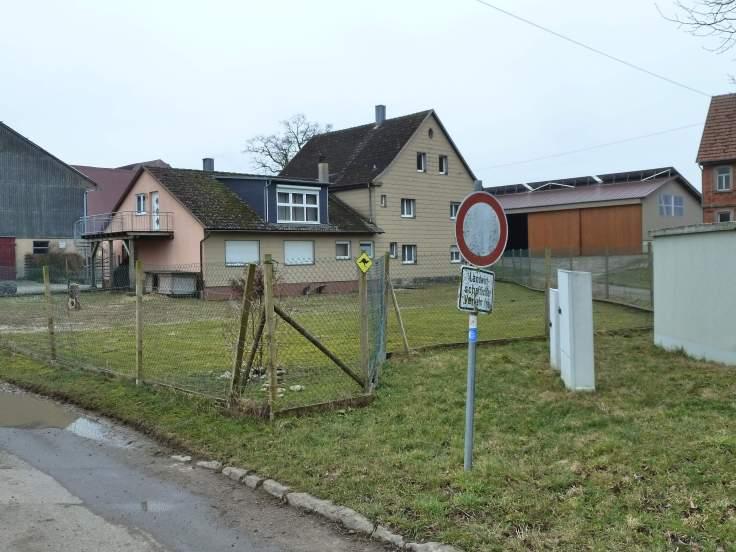 Ein Bauernhof bei Bilingsbach (Fotorechte: Dario schrittWeise)