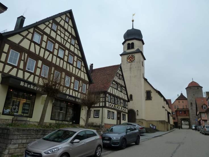 Die Kirche von Langenburg (Fotorechte: Dario schrittWeise)