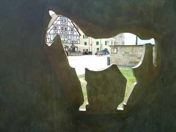Martins Pferd (Fotorechte: Dario schrittWeise)