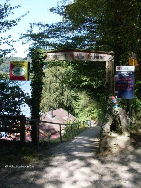 Der Weg zum Rhein