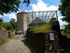 Zugang zur Burg Ravensberg