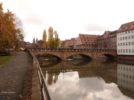 Maxbrücke Westseite im November